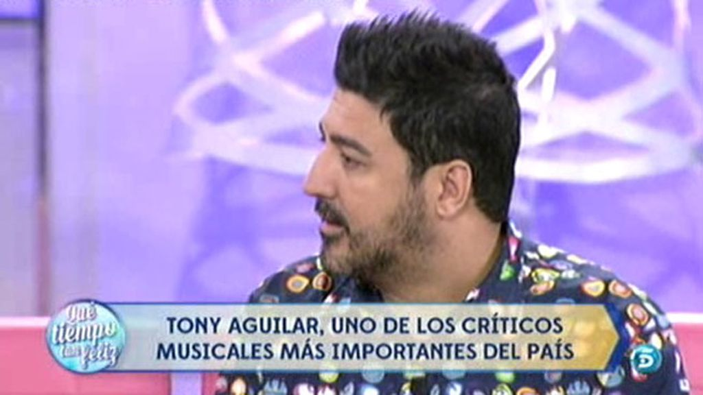 """Tony Aguilar: """"Creo que el éxito de 'Auryn' reside en su cercanía con la gente"""""""