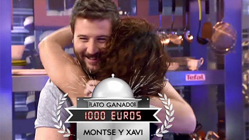 Montse y Xavi se convierten en los nuevos ganadores con su zarzuela de marisco