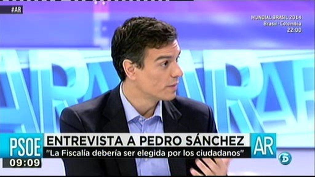 """Pedro Sánchez: """"No me va a temblar el pulso a la hora de echar a un corrupto del PSOE"""""""