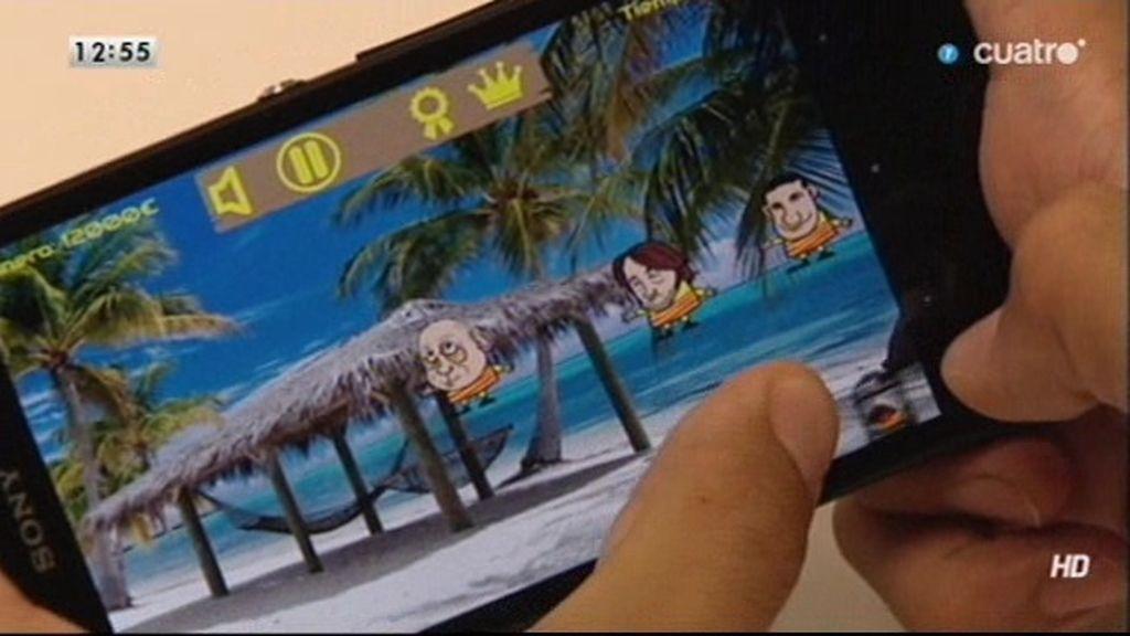'Atrapa a los Pujol', un videojuego para móvil