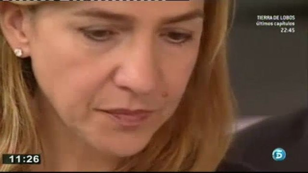 Los delitos que le imputan a la Infanta podrían suponer una pena de más de diez años