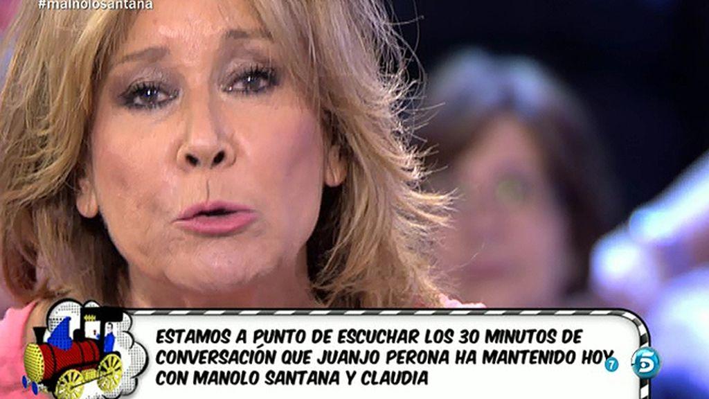 """Mila a Santana: """"Cuando nació nuestro nieto, ni siquiera viniste al hospital"""""""