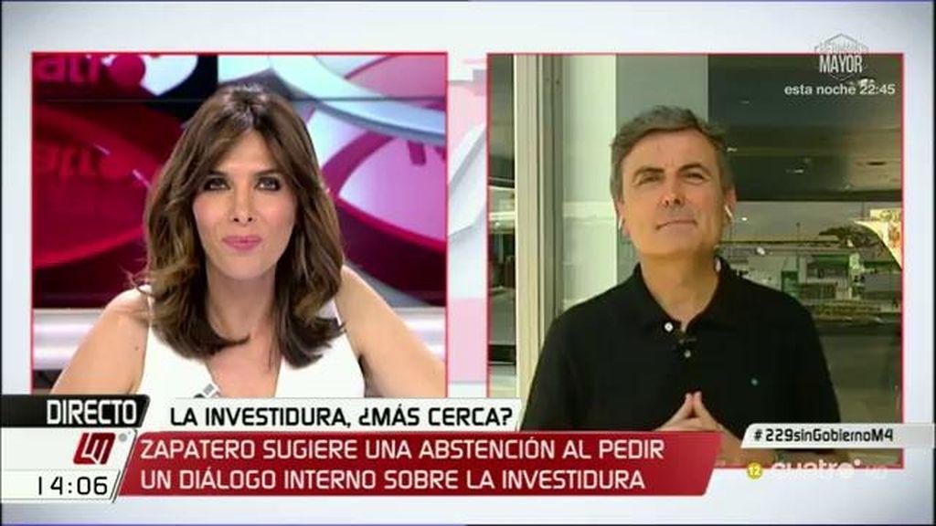 """Saura, tras las declaraciones de Zapatero: """"Hemos tenido más de 12 reuniones del comité federal y hubo unanimidad en el 'no"""""""
