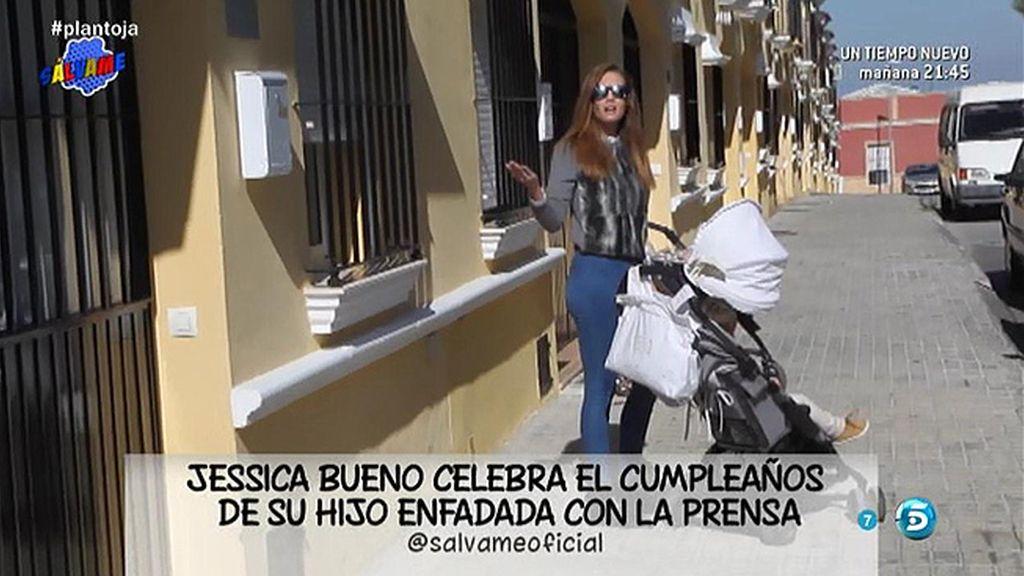 Jessica Bueno estalla contra la prensa el día del cumpleaños de su hijo