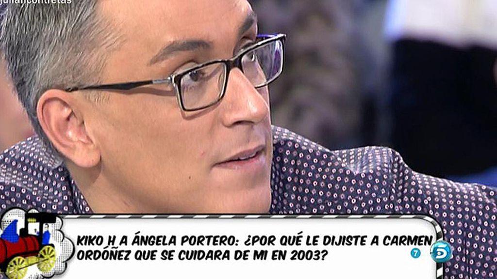 Kiko Hernández afirma tener imágenes del interior de Alcalá de Guadaíra