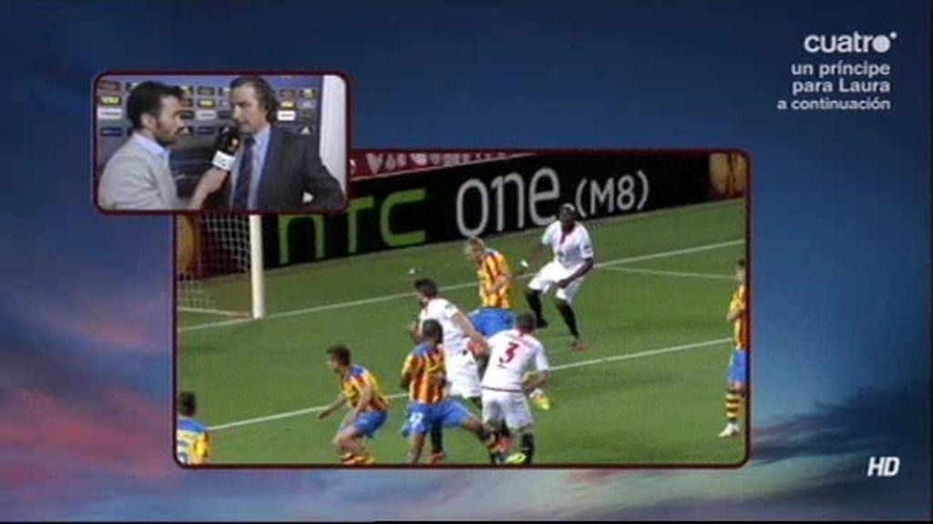 """Pizzi, indignado con el árbitro: """"La acción del primer gol condiciona todo el partido"""""""