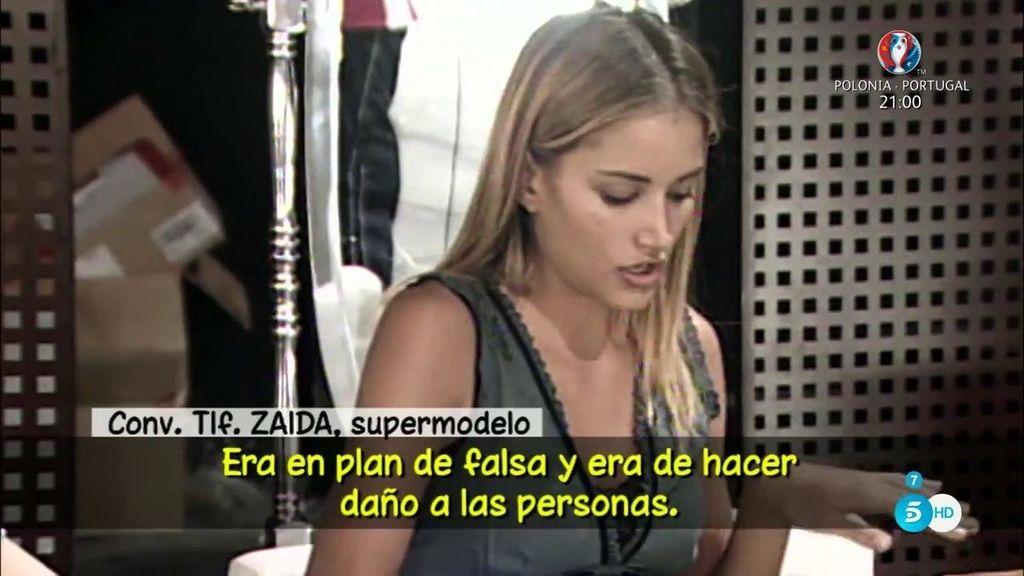 "Zaida, una compañera de Alba Carrillo en 'Supermodelo': ""No tiene buen fondo"""