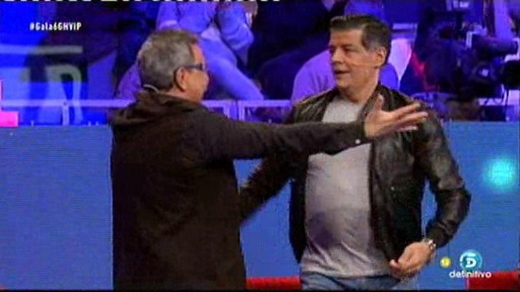 Los Chunguitos estallan de alegría con la expulsión de Víctor Sandoval