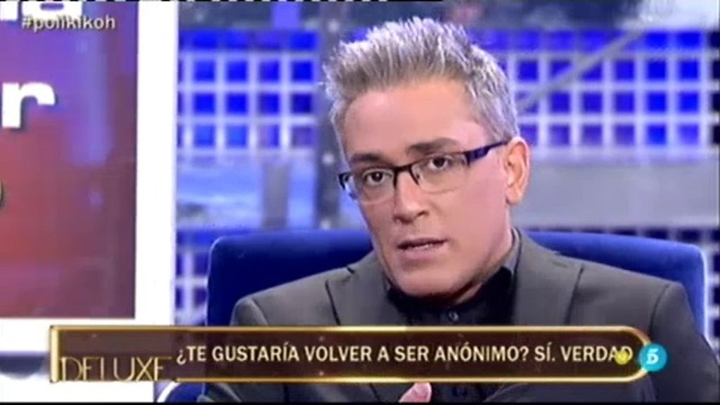 El 'PoliDeluxe' descubre que a Kiko Hernández le gustaría volver a ser anónimo