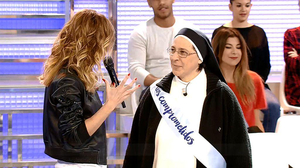 """Sor Lucía Caram y #Loscomprometidos: """"Los niños tienen derecho a ser niños"""""""