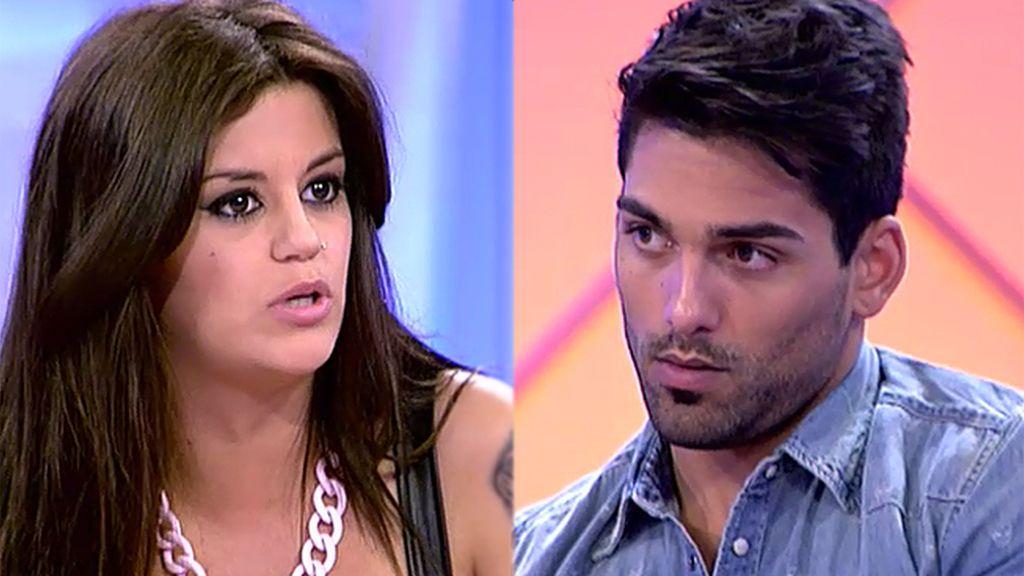 """Isaac, a Lola: """"Álvaro te utilizó"""""""