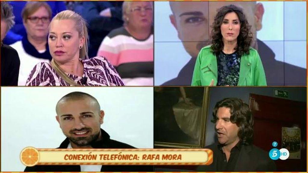 """Rafa Mora: """"Toño me dio la espalda, lo reconozco, me dejó totalmente desamparado"""""""