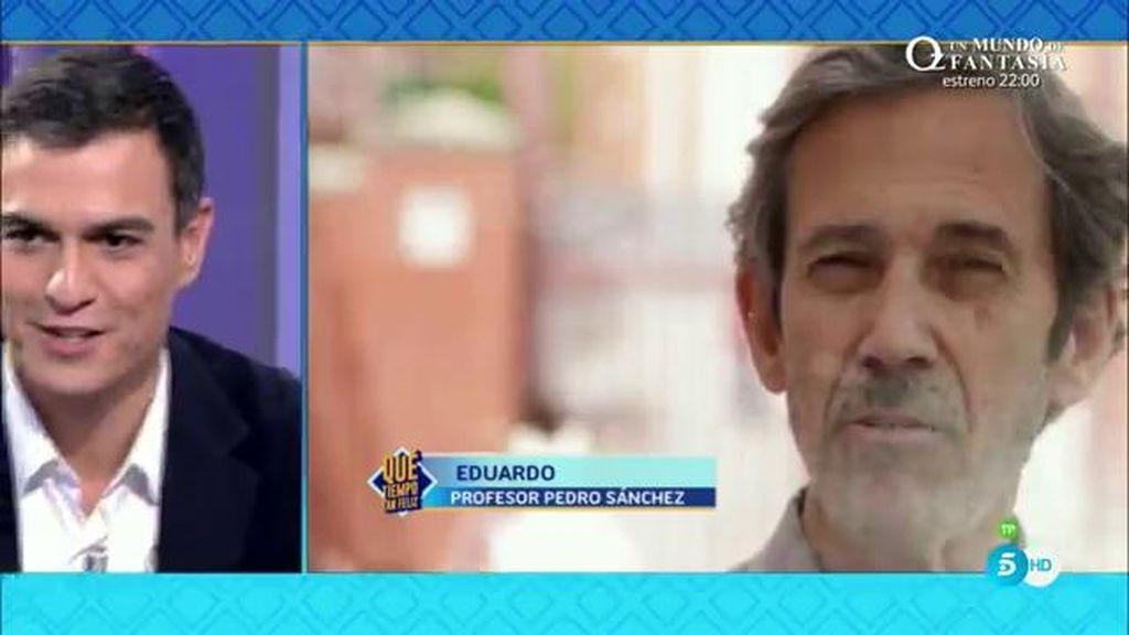 ¿Cómo llegó Pedro Sánchez a ser candidato?: hablan sus profesores y compañeros