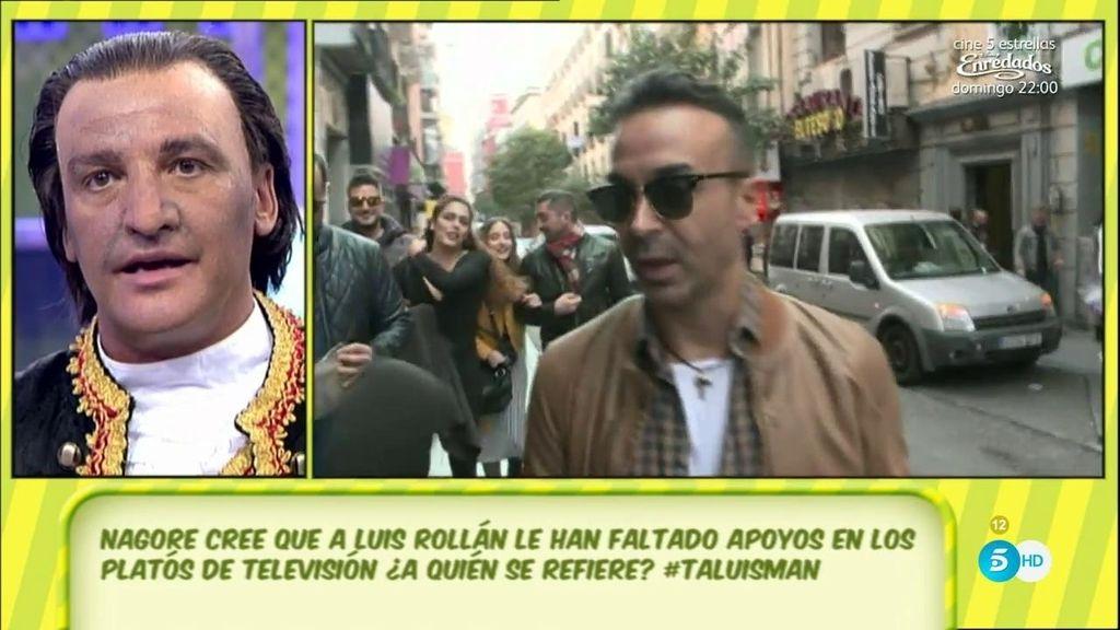 """Gustavo, sobre Luis Rollán: """"Ni he hablado jamás mal de él, ni tengo porqué hacerlo"""""""