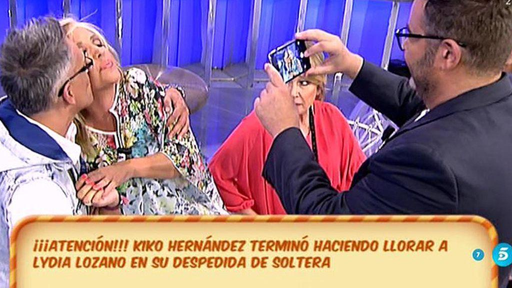 Kiko Hernández pide perdón a Lydia Lozano... pero a su forma