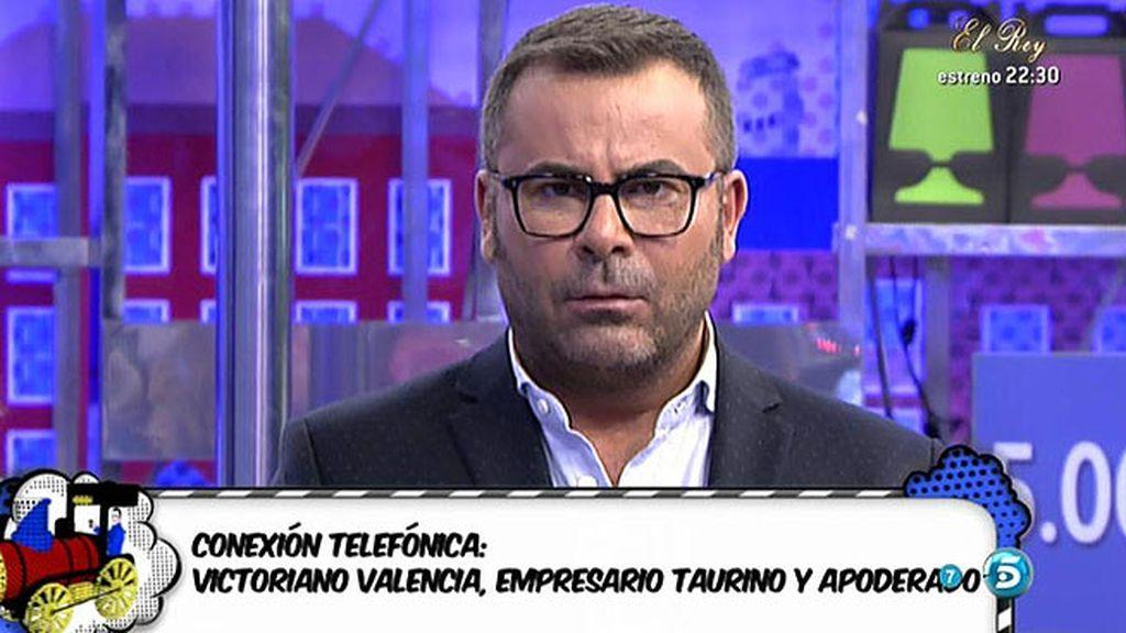 """Victoriano Valencia: """"Jose Mari ha sido el temple y la naturaleza del toreo"""""""