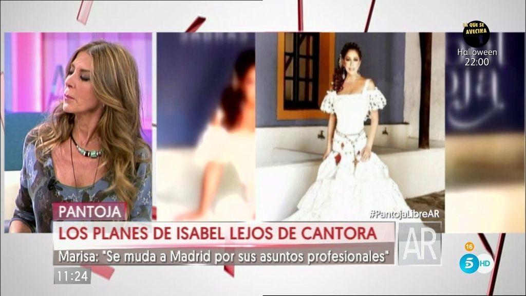 """Marisa M. Blázquez: """"Isabel Pantoja se muda a Madrid por sus asuntos profesionales"""""""