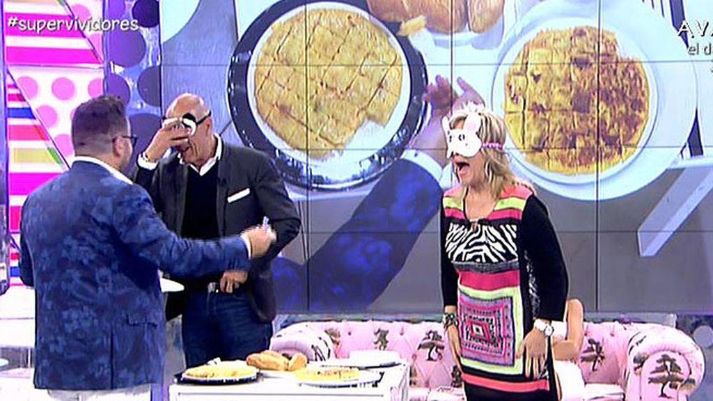 ¿Quién hace mejor una tortilla, Kiko Hernández o Ángela Portero?