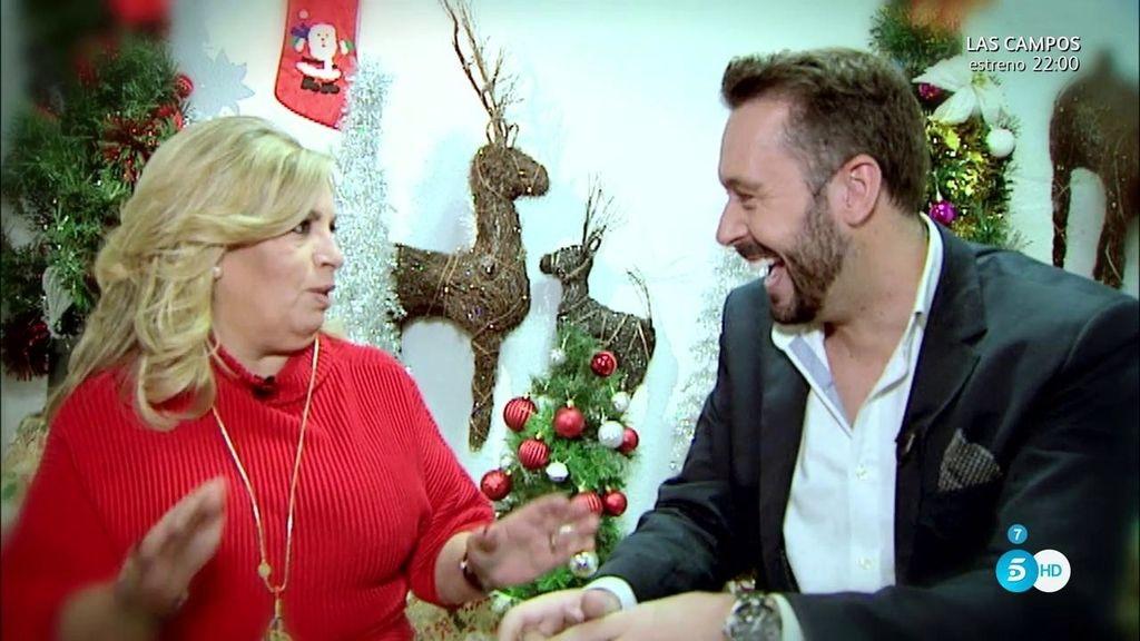 """C. Borrego, a Calleja: """"Feliz Navidad 'cuñao"""""""