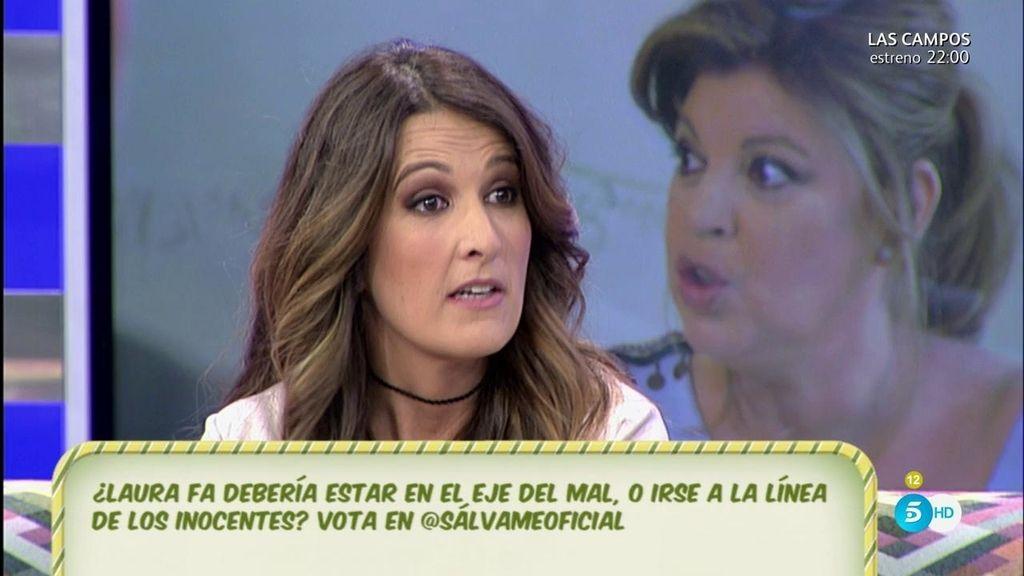 """Laura Fa: """"María Teresa Campos me cae bien, pero Terelu menos"""""""