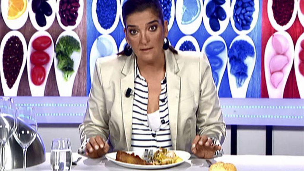 """María Jiménez Latorre, sobre el conejo de María Jesús: """"Esto es comida de hospital"""""""
