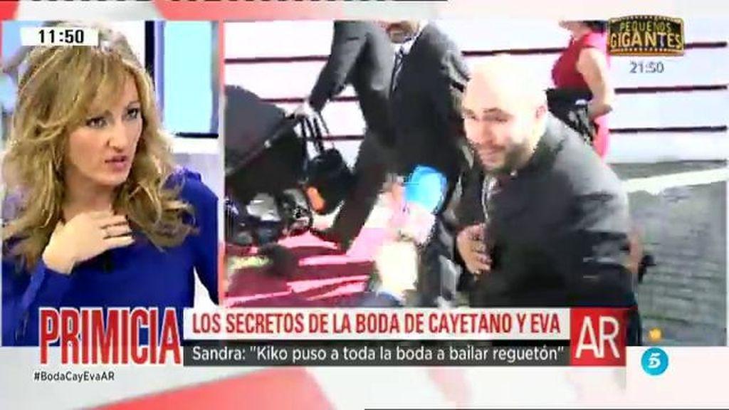 """Sandra Aladro: """"Kiko Rivera puso a toda la boda a bailar reggaetón"""""""