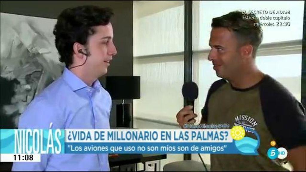 Fran Nicolás nos abre las puertas de su nueva casa, un lujoso piso en Gran Canarias