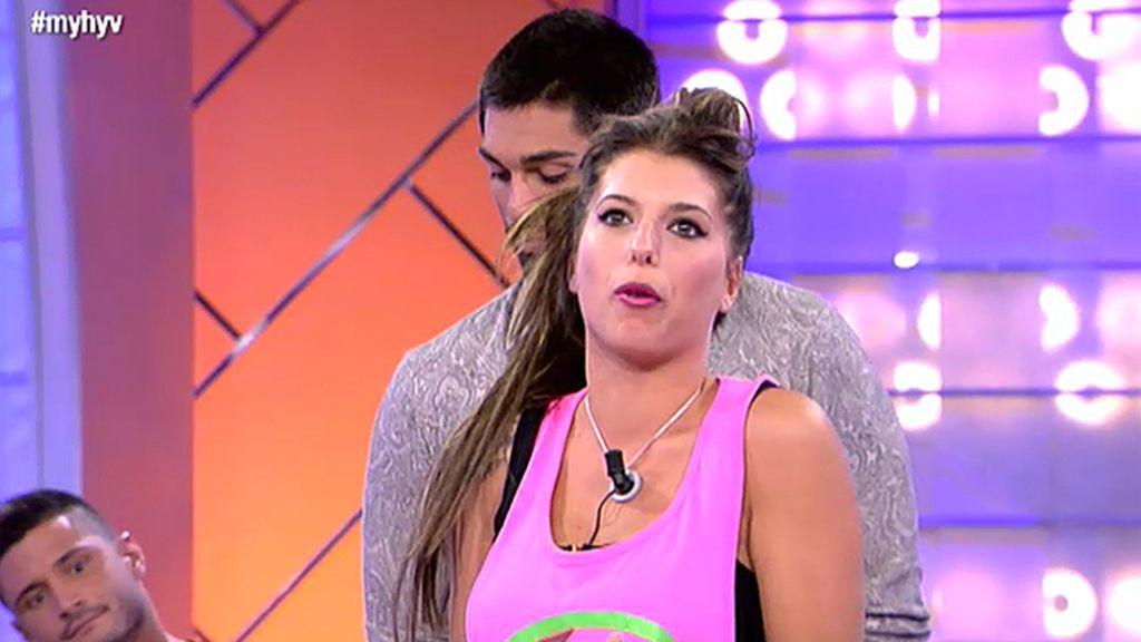 """Andrea, a Isaac: """"No he encontrado el amor aquí, pero lo tengo fuera"""""""