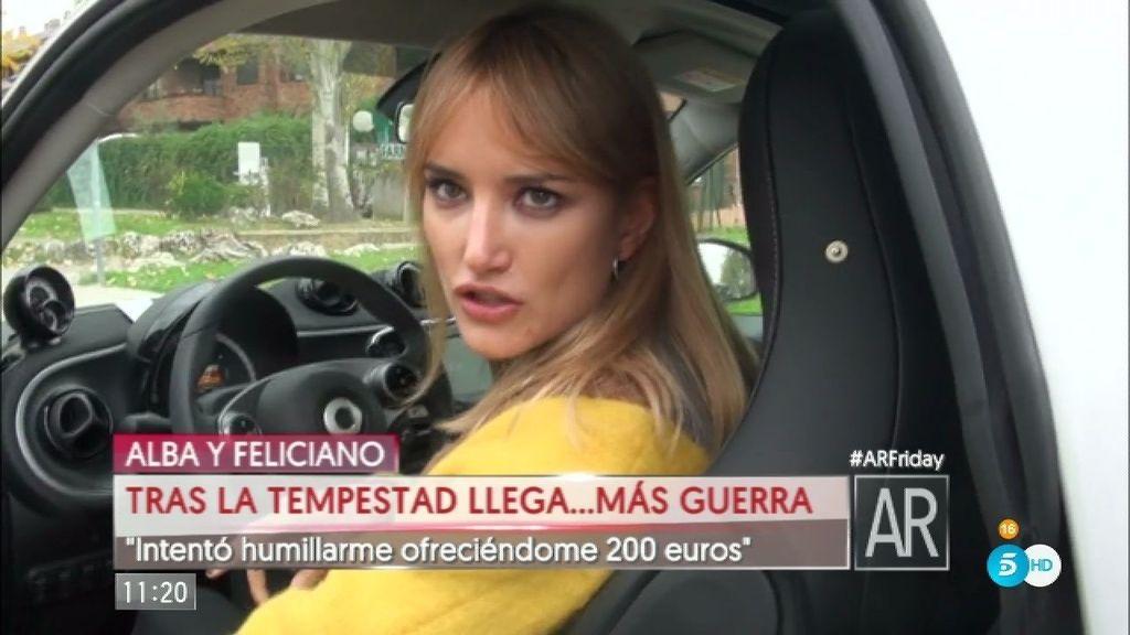 """Alba Carrillo: """"Le he dicho seis o siete nombres, pero tengo guardados más"""""""