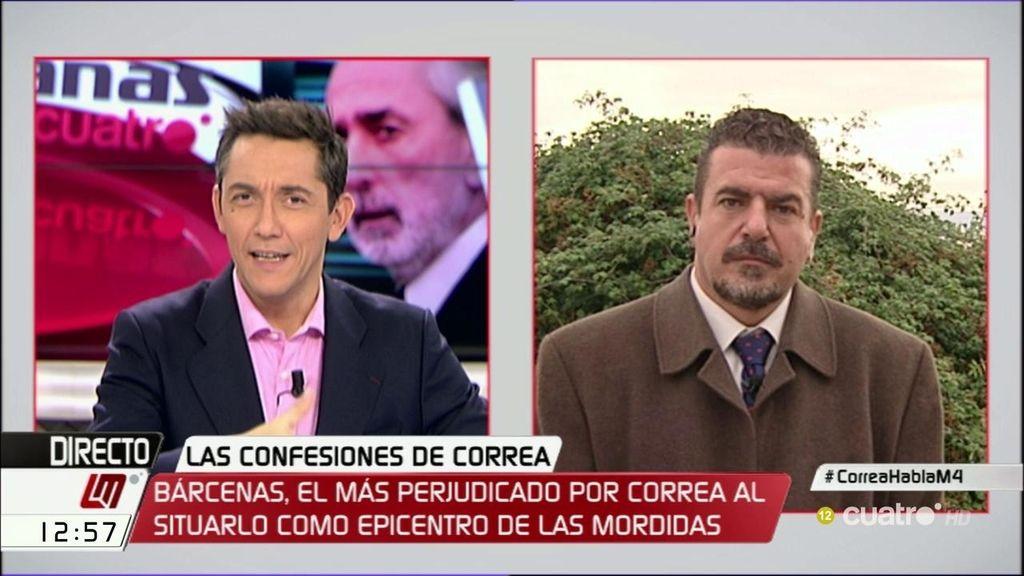 """El abogado de Bárcenas: """"Las declaraciones de Correa son totalmente falsas"""""""
