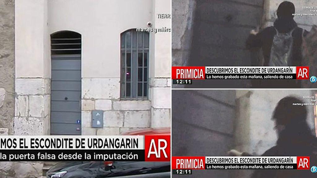 'AR' descubre la puerta secreta por la que Urdangarin y la Infanta salen de su casa