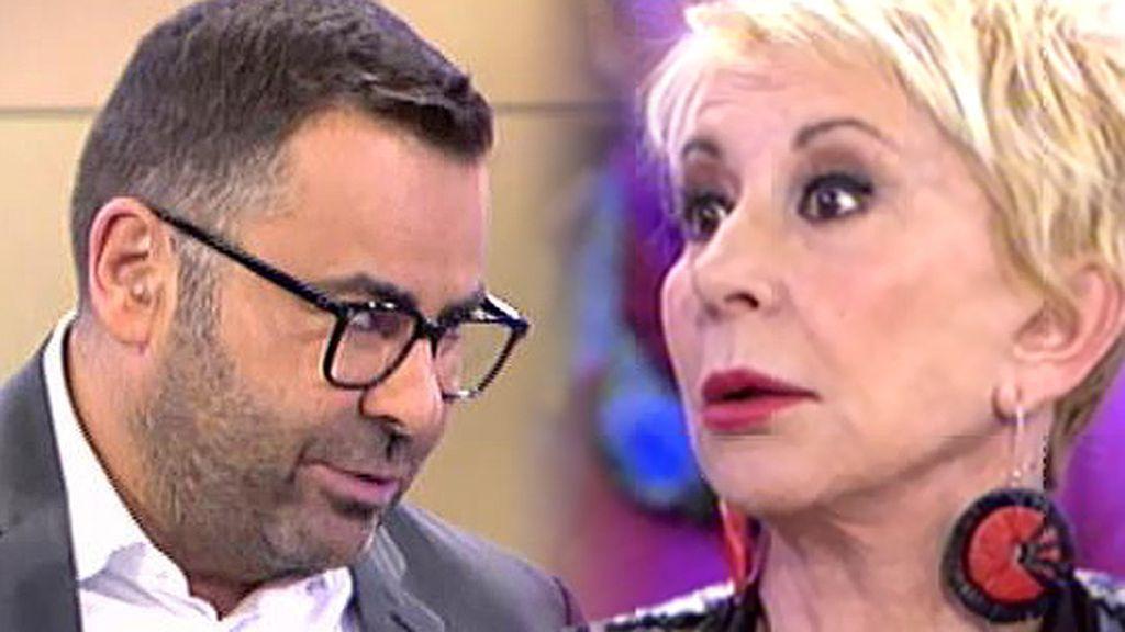 """Jorge Javier, a Karmele: """"Voy a pedir no coincidir contigo"""""""