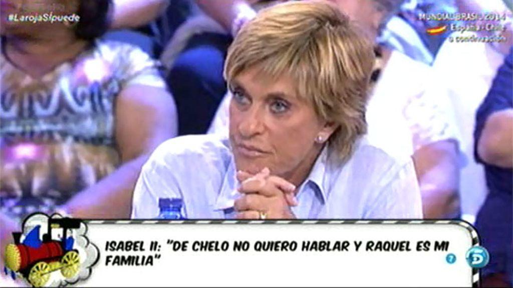 """Chelo Gª Cortés, tras las declaraciones de Chabelita: """"Yo solo quiero que sea feliz"""""""