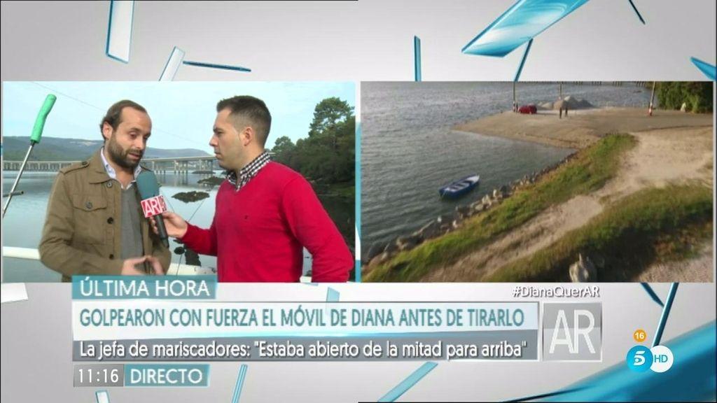 """J. Romero: """"Mirarán si en el móvil de Diana hay huellas de otra persona"""""""