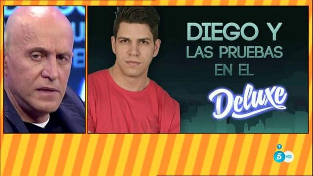 Diego Matamoros y las pruebas en el 'Deluxe'
