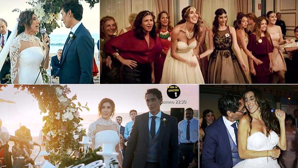 En vídeo: Lo que no hemos visto de la boda de Paz Padilla