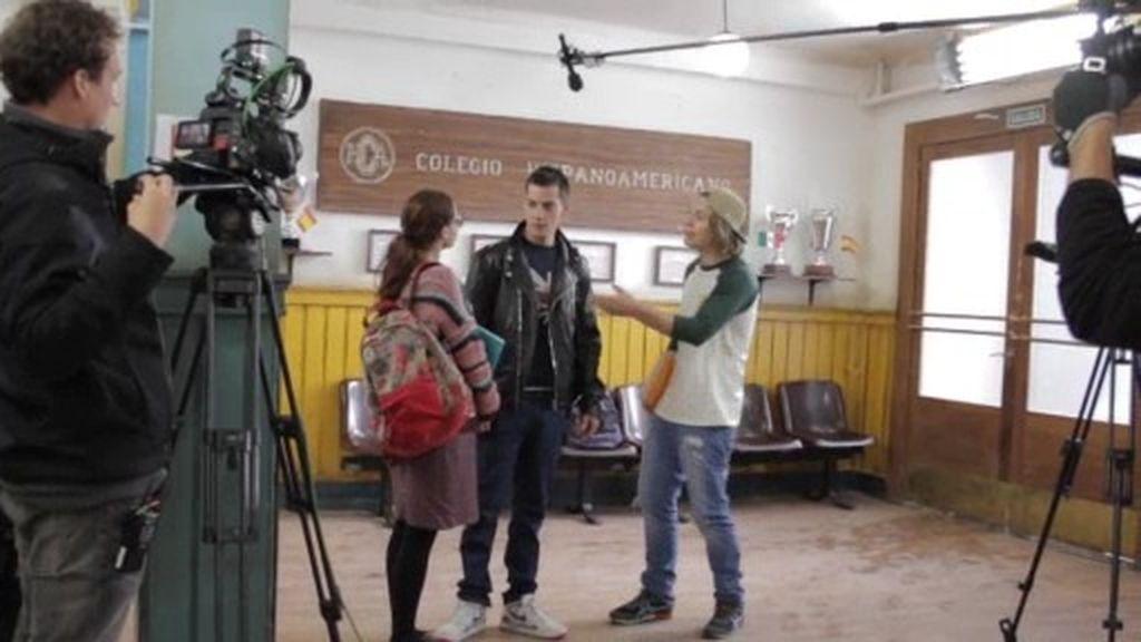 ¡Nos colamos en los pasillos del Colegio Hispanoamericano!