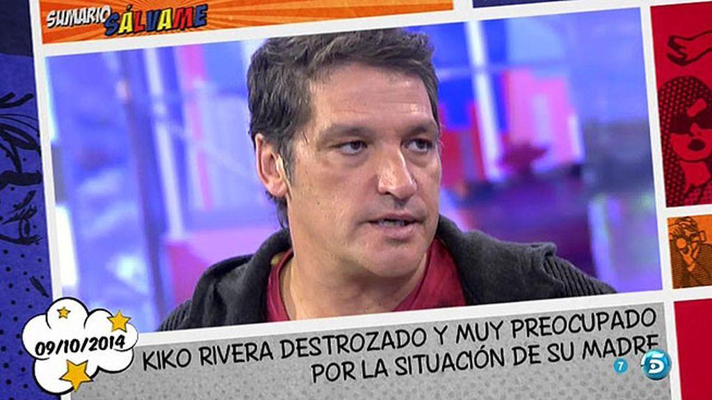 "Gustavo González: ""Kiko Rivera amenazó e insultó a unos periodistas en Sevilla"""