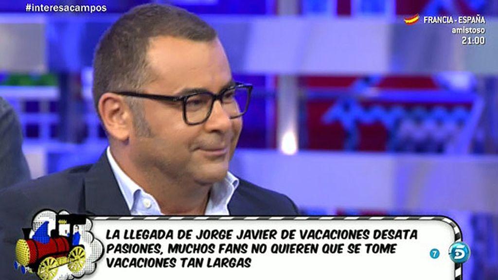 Las enigmáticas palabras de Jorge Javier