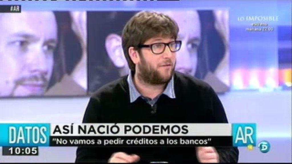 """Miguel Urban, cofundador de Podemos: """"Hemos demostrado que a la gente le interesa la política"""""""