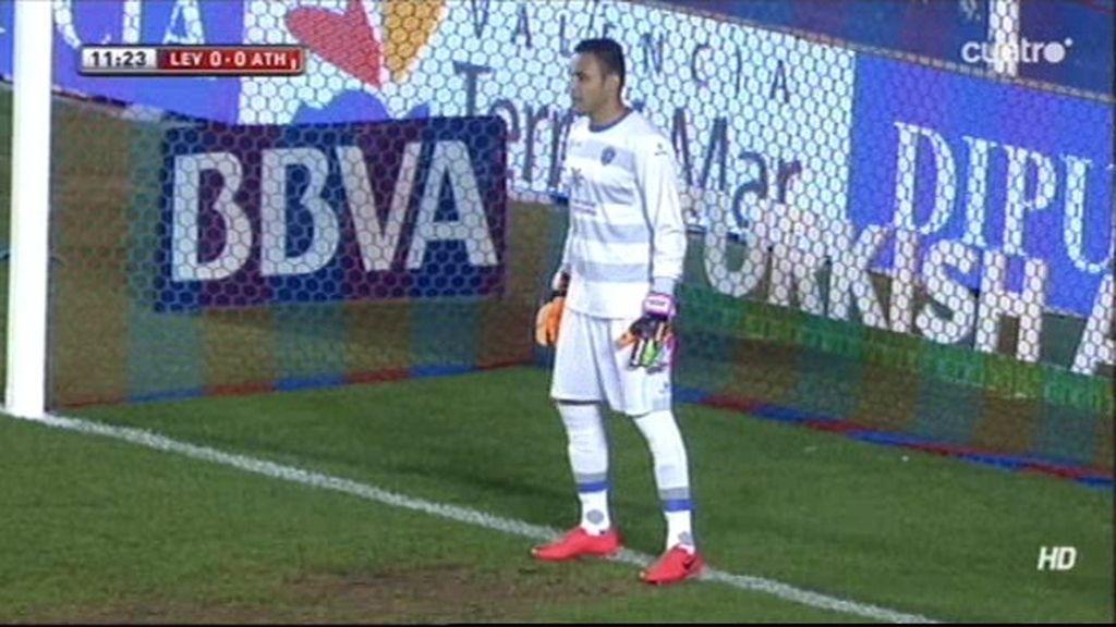 San José alarga el gafe del Athletic con otro penalti fallado ante el Levante