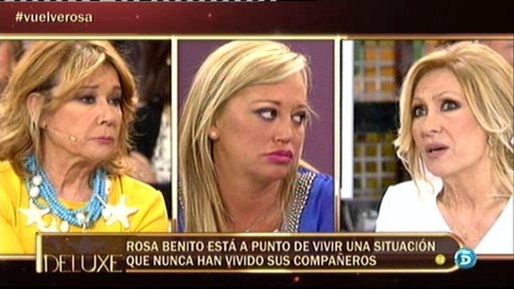 """Rosa Benito: """"Es cierto que dije algo inapropiado de Belén Esteban"""""""