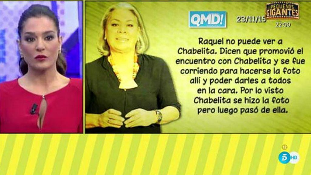 """Carmen Gahona, en 'QMD!': """"Chiquetete se fue a casa de su madre y no ha vuelto más"""""""