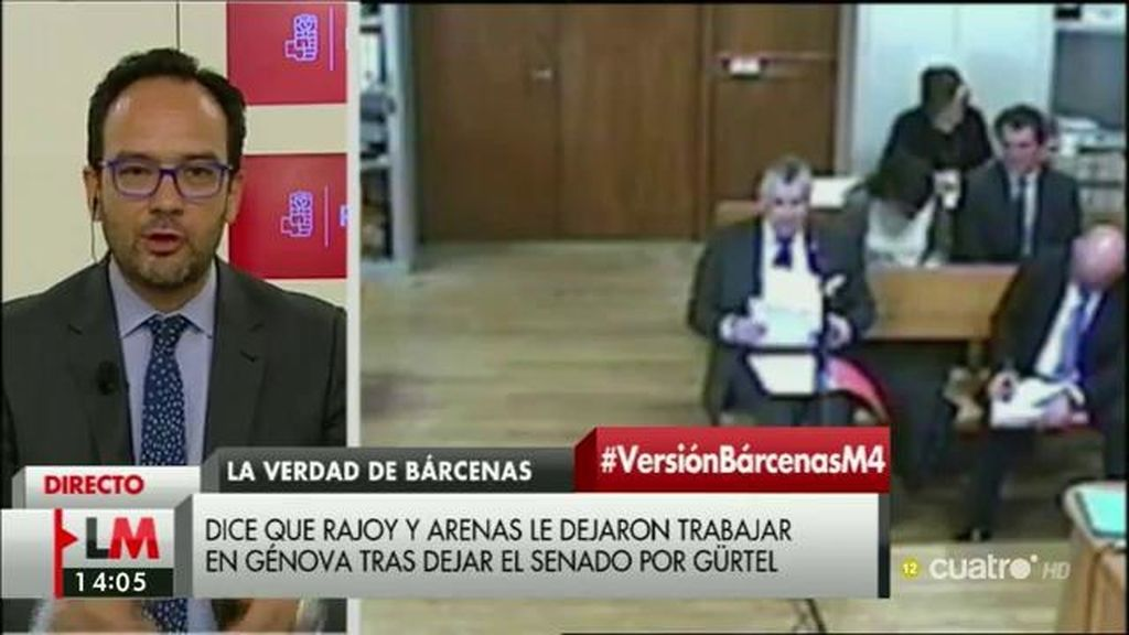 La entrevista de Antonio Hernando en 'Las Mañanas de Cuatro', a la carta