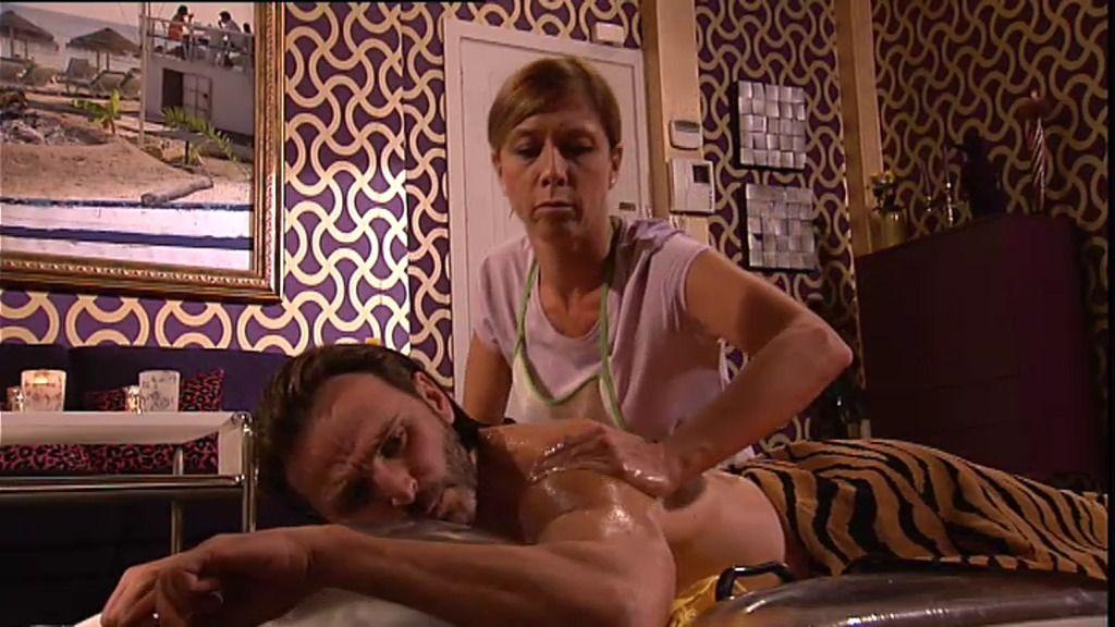 Fermín quiere un masaje con final feliz