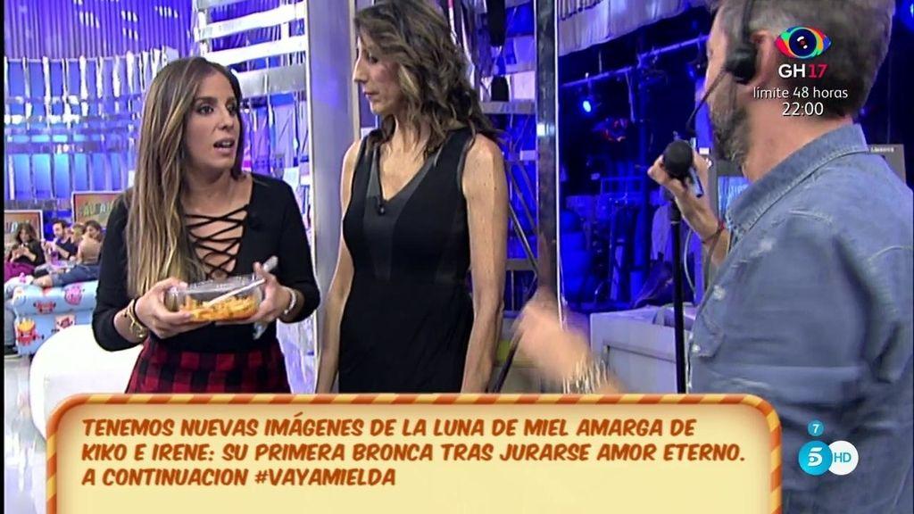 """La bronca de Kiko Hernández a Anabel Pantoja: """"Esto no es restaurante Casa Pepe"""""""