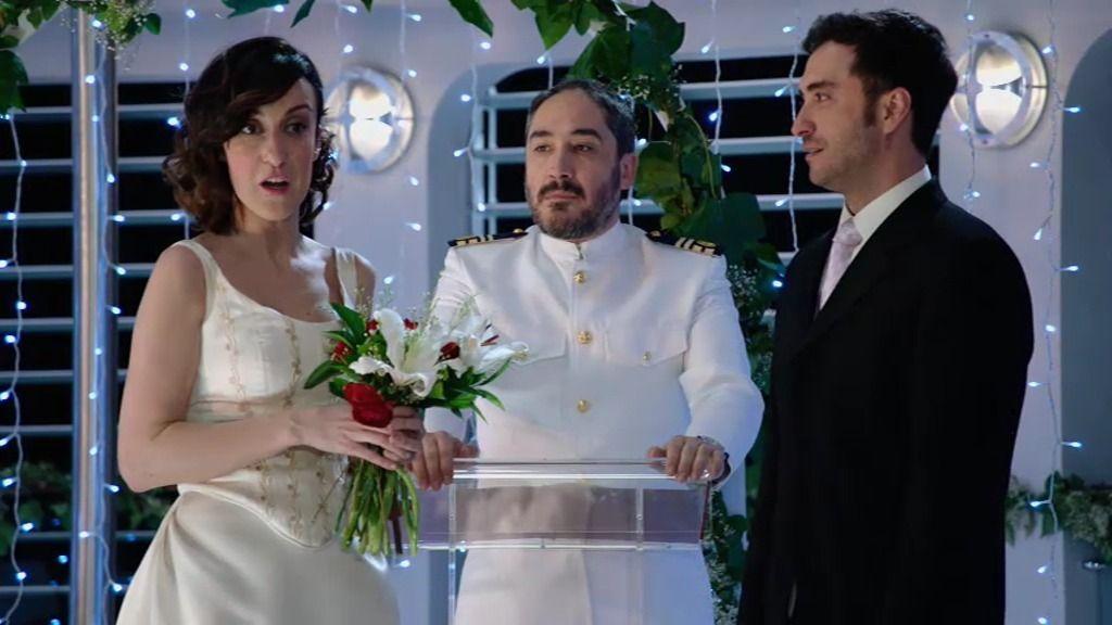 La boda en el 'Ancla II' termina con una noticia inesperada