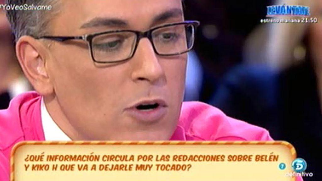 """Kiko Hernández: """"Yo quiero ser amigo de Belén Esteban toda la vida"""""""