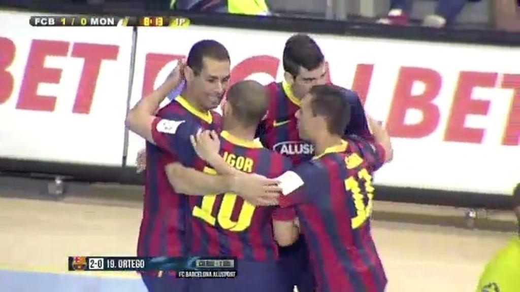 El Barcelona golea al Montesinos Jumilla (5-1)