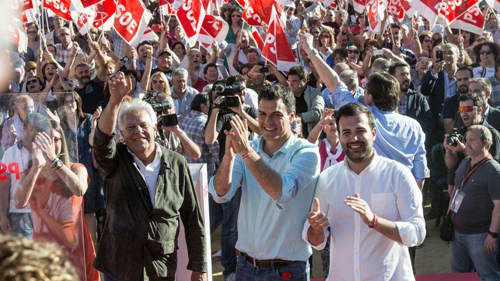 """Pedro Sánchez: """"Lo que da miedo es que se quede Rajoy y sus amiguitos del alma"""""""